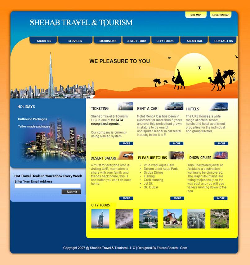 Falcon Search com LLC | Best Dubai Web Design and